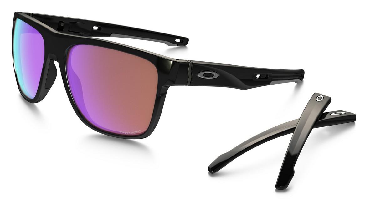 Oakley Crossrange XL Prizm Polarized Sonnenbrille Schwarz/Bronze aho2F
