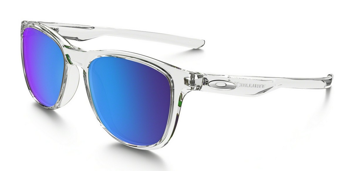 Oakley Trillbe X Polished Clear, Glasfarbe: Sapphire Iridium ...