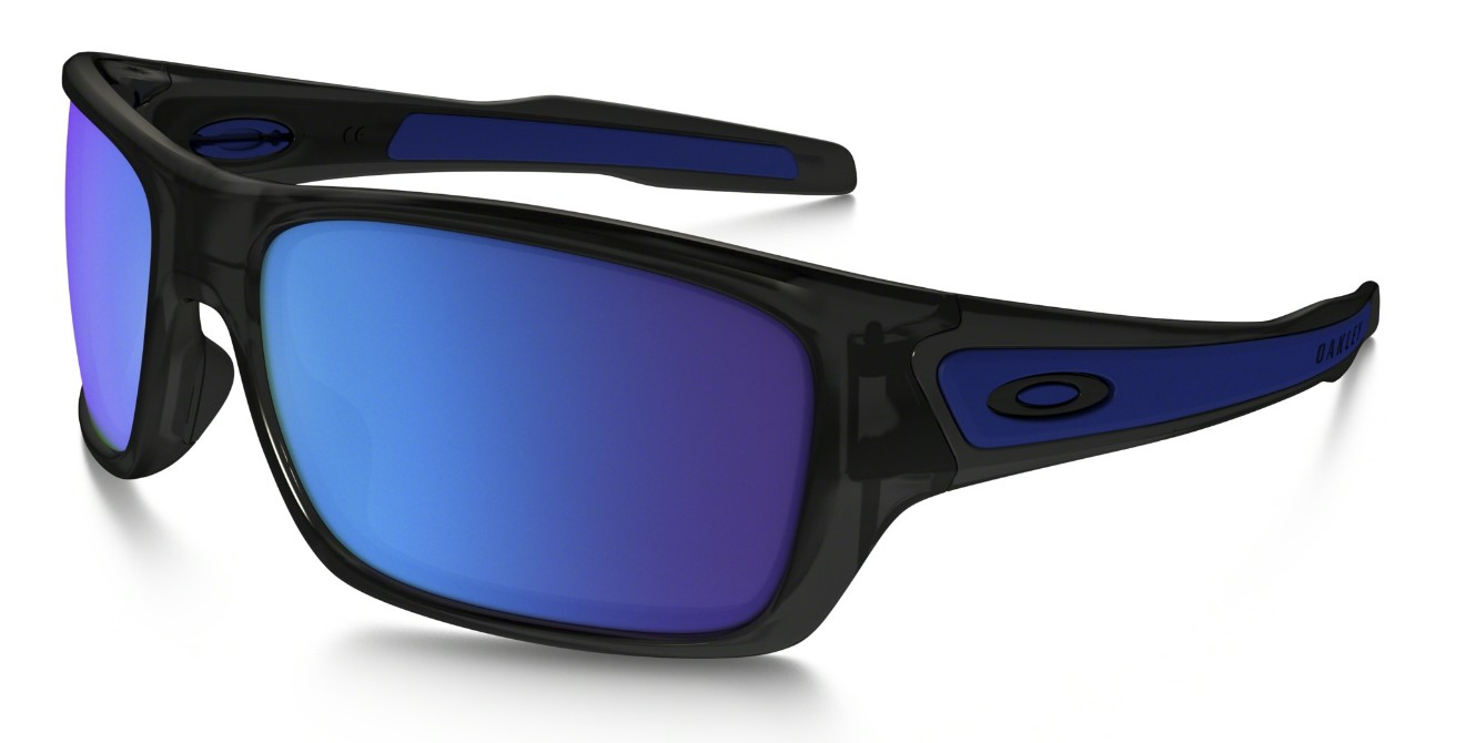 Oakley Turbine Black Ink, Glasfarbe: Sapphire Iridium (Sonnenbrille)